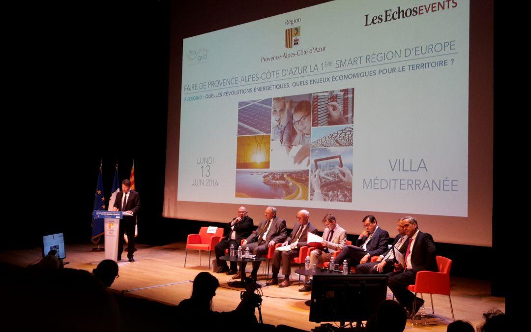 Flexgrid: faire de la région PACA la première Smart région d'Europe